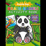 Puzzle Fun Brain Games Activity Book Panda