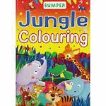 Bumper Jungle Colouring
