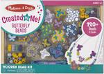 Melissa & Doug Butterfly Beads Wooden Bead Set