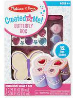 Melissa & Doug Decorate Your Own Wooden Butterfly Box