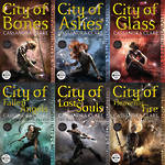 Cassandra Clare Mortal Instruments Series 6 Books Collection