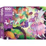 Children's Sparkly Jigsaw Fairy Garden