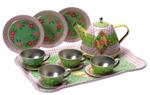 Children's Tin Tea Set