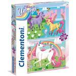 I Believe In Unicorns 2x 20 piece puzzles - Clementoni Puzzle