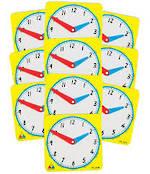 Clock Face 12 hour clock