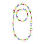 Colour Me Rainbow Necklace and Bracelet Set