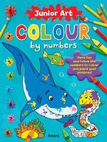 Junior Art Colour by Numbers Shark