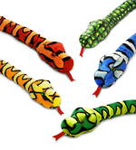 """Colourful Snake - 39"""" Wildlife Plush"""
