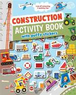Construction Activity Book with Puffy Stickers
