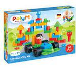 Poly M Creative City Building Blocks Kit