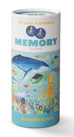 Crocodile Creek Memory Game - Ocean Animals