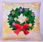 Diamond Dotz Wreath Mini Pillow