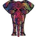 Diamond Art Elephant Glitz Dotz