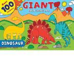 Dinosaur Giant Colouring Pad