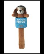 Reading Friend Dog