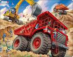 Larsen Tray Puzzle Dump Truck