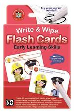 Write & Wipe Flashcards Early Learning Skills
