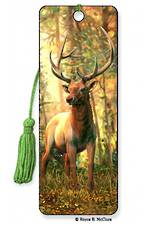 3D Bookmark - Elk