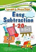 Essential Preschool Skills Easy Subtraction
