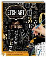 Etch Art hand Lettering