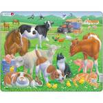 Larsen Tray Puzzle Pets & Farm Animals
