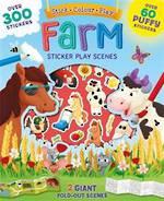 Farm Sticker Play Scenes