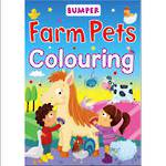 Bumper Farm Pets Colouring