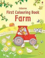 Usbrone First Colouring Book Farm