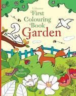 Usborne First Colouring Book Garden