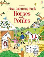 Usborne First Colouring Book Horses and Ponies