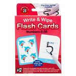 Write & Wipe Flashcards Numbers 0-30