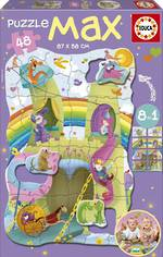 Giant Floor Puzzle - Princesses & Knights