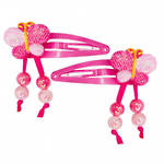 Glitter and Pearl Butterfly Hairclip