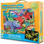 Puzzle Doubles Glow in the Dark Dino