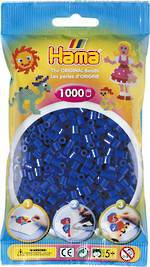 Hama Beads 1000 Blue H207-08
