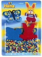 Hama Blister Kit Rabbit & Butterfly 1000 Beads H4063