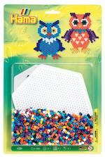 Hama Bead Kit 1 x Large Hexagon Shape 1100 Beads H4012