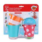Hape Little Splashers Happy Buckets Set Bath Toy