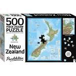 Hinkler Jigsaw Puzzle New Zealand Map (500pcs)