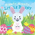 Hippity Hoppity, Little Bunny Finger Puppet Book