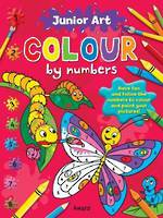 Junior Art Colour by Numbers Butterfly