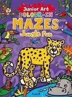 Junior Art Colour-In Mazes Jungle Fun