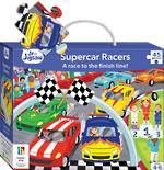 Junior Jigsaw: Supercar Racers