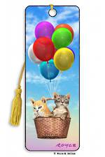 3D Bookmark - Kitty Up