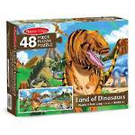 Melissa & Doug Floor Puzzle Land of Dinosaurs