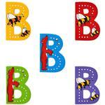 Lanka Kade Wooden Animal Letter B