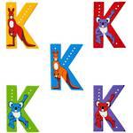 Lanka Kade Wooden Animal Letter K
