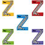 Lanka Kade Wooden Animal Letter Z