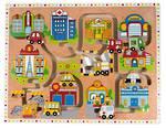 Kiddie Connect Large Maze Puzzle City