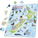 Larsen Maxi Puzzle Map of New Zealand (71pc)